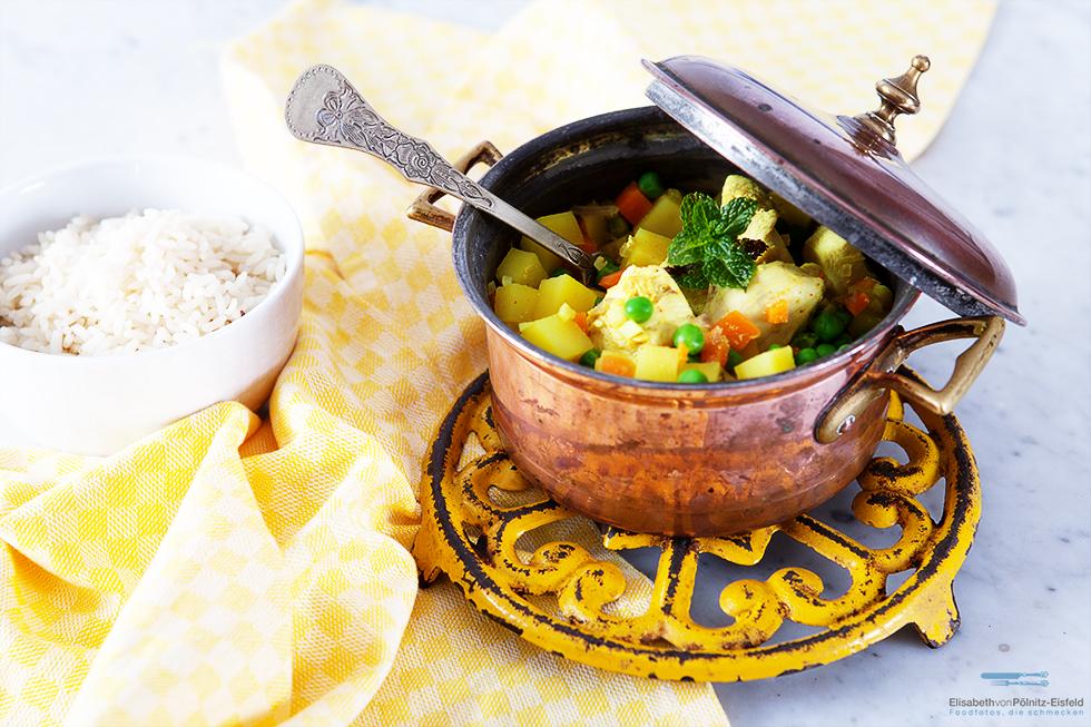 Hähnchen Cau Cau Für Valentinas-Kochbuch