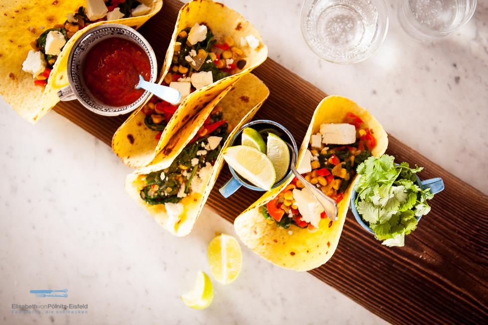 Sommerfrische Tacos Für Valentinas
