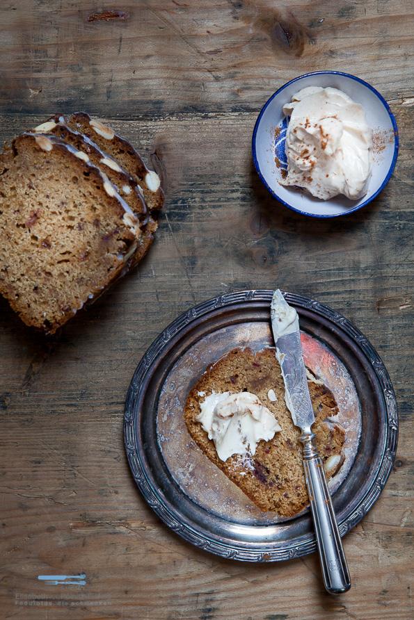 Das Mandelbrot mit Ingwer und Zimtbutter, dass eigentlich ein Kuchen sein will!