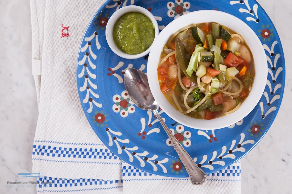 Suppe Ist Fertig! Soupe Au Pistou