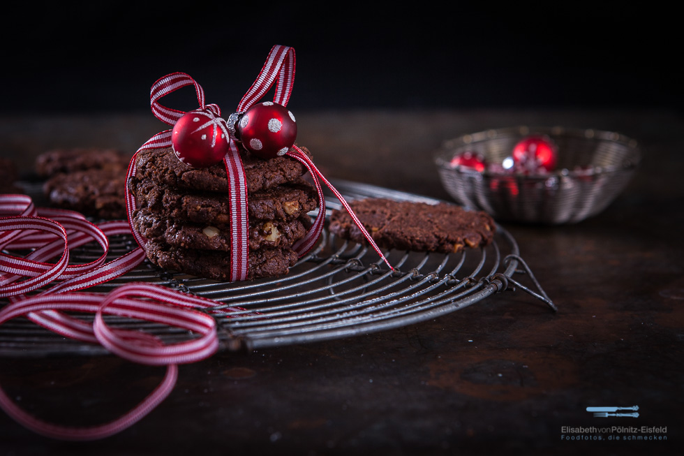 Schoko-Walnuss-Cookies Zum 1. Advent