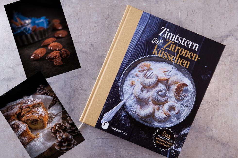 Standardbuch Zur Weihnachtsbäckerei, Zimtstern Und Zitronenküsschen.