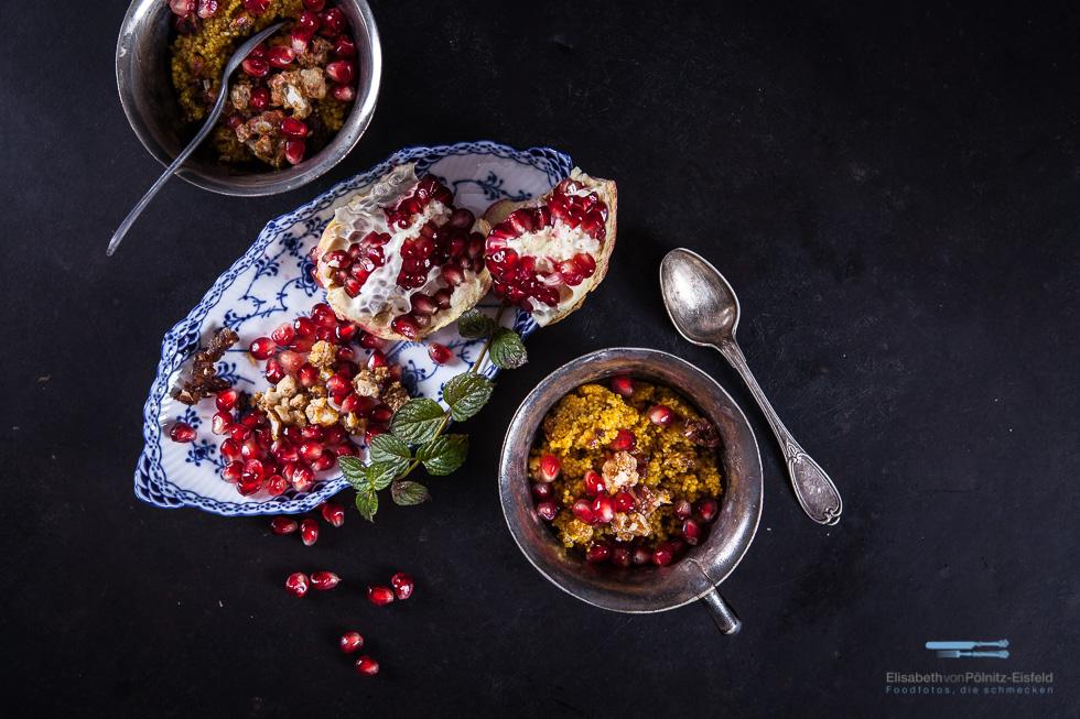Couscous Zum Frühstück Mit Knuspernüsssen!