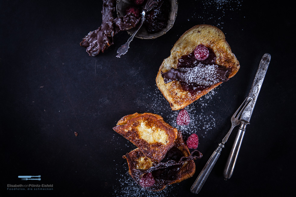 "French Toast Mit Schokobacon Aus Der ""sweet&salty"" Rezension"
