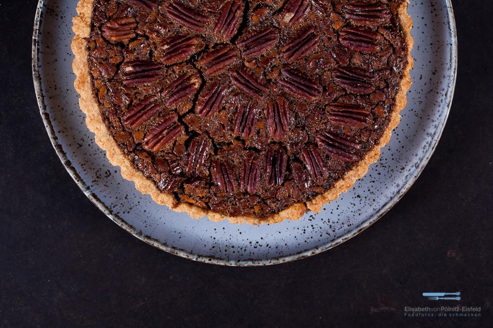 Dieser Nach Karamell Schmeckende Pekannuss-Pie Ist Eine Bereicherung Für Jede Kaffeetafel Oder Zum Dessert.