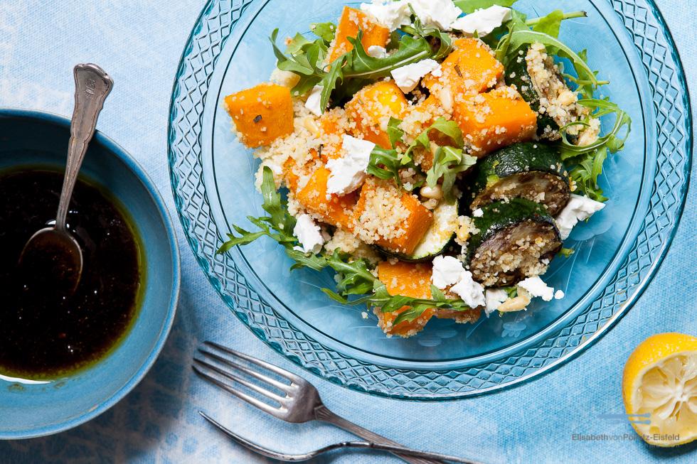 Couscous-Amaranth-Salat