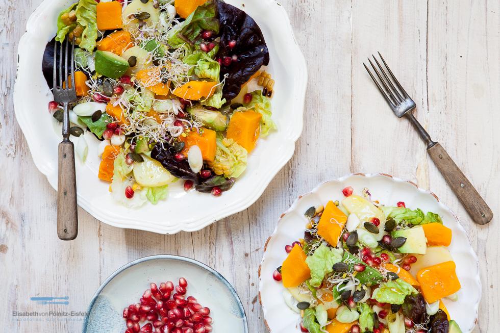 Eine Wilde Mischung. Superfood-Salat Vom Feinsten!