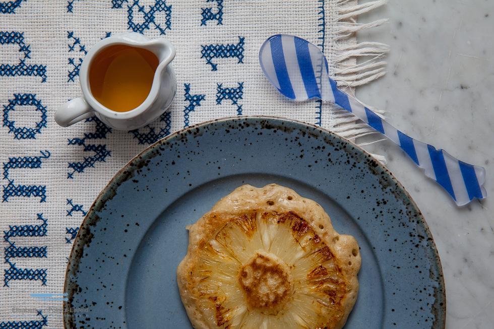 Mit Nur 2 Smart Points Pro Ananas-Pancake Kannst Du Ganz Wunderbar In Den Tag Starten !