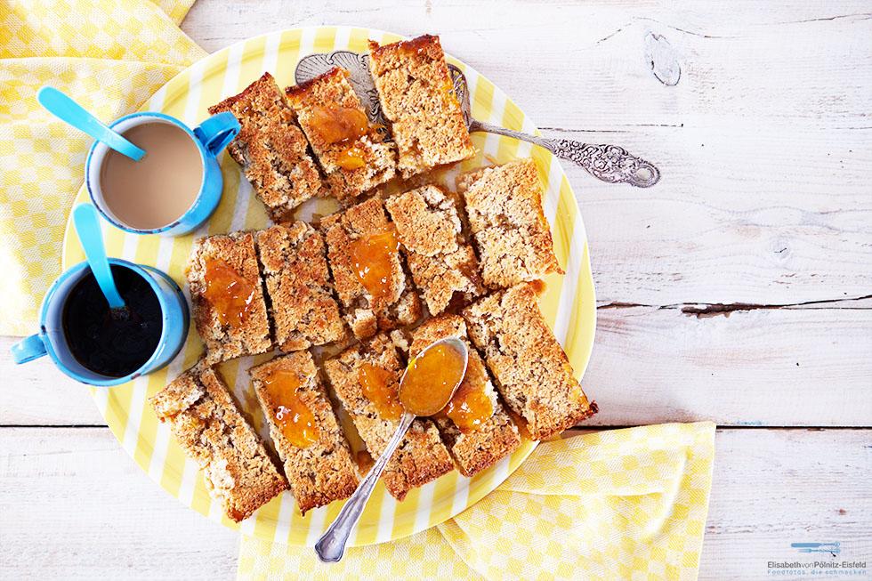 "Kokos-Aprikosenshortbread Aus Der ""Simply Yummy"" App"