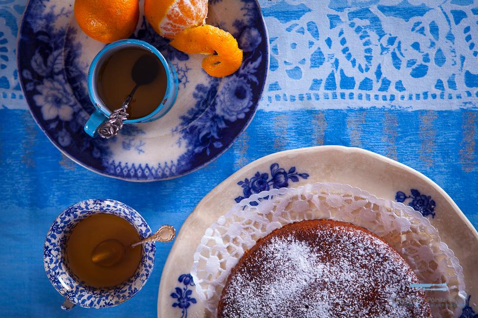 Getränkter Clementinen Kuchen