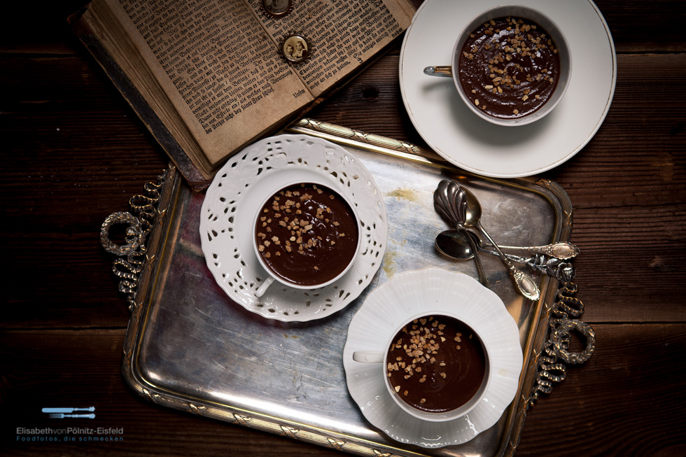 Bananen-Schokoladen Tasse
