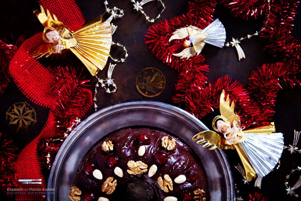Früchtekuchen Mit Whiskey (kulinarischer Adventskalender, Türchen Nummer 16)
