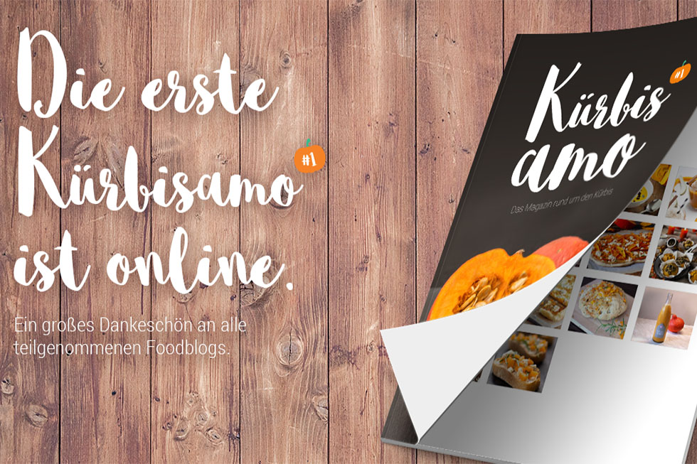 """Kürbisamo"" E-Book Von Risotto&more Ist Online!"