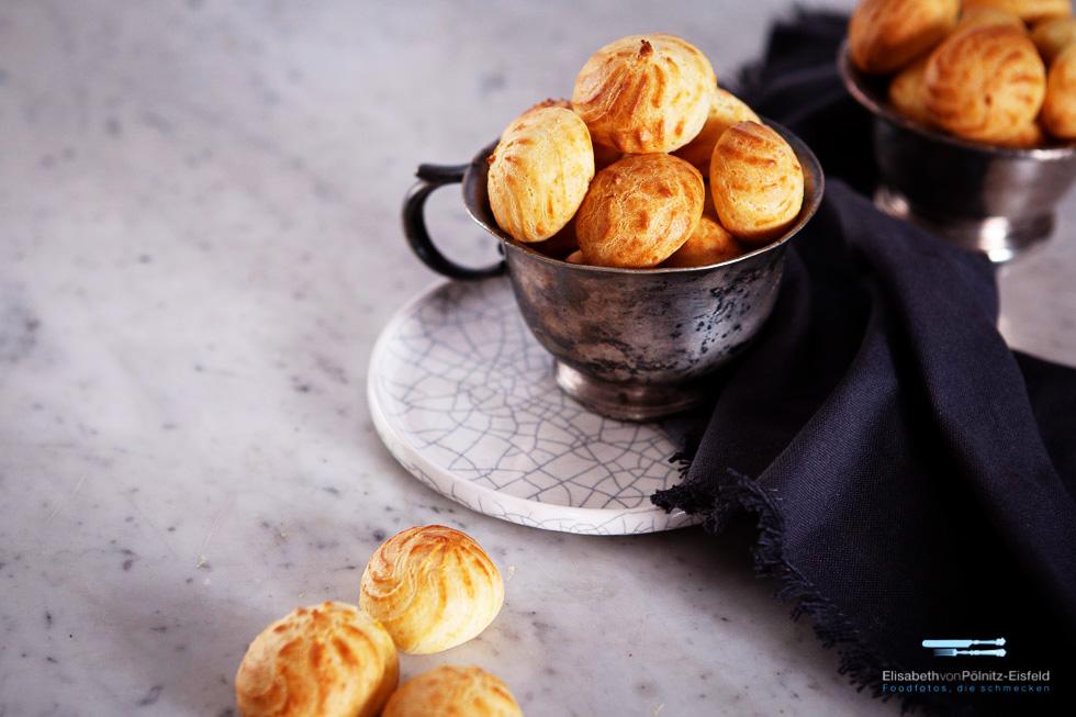 Parmesan-Windbeutel