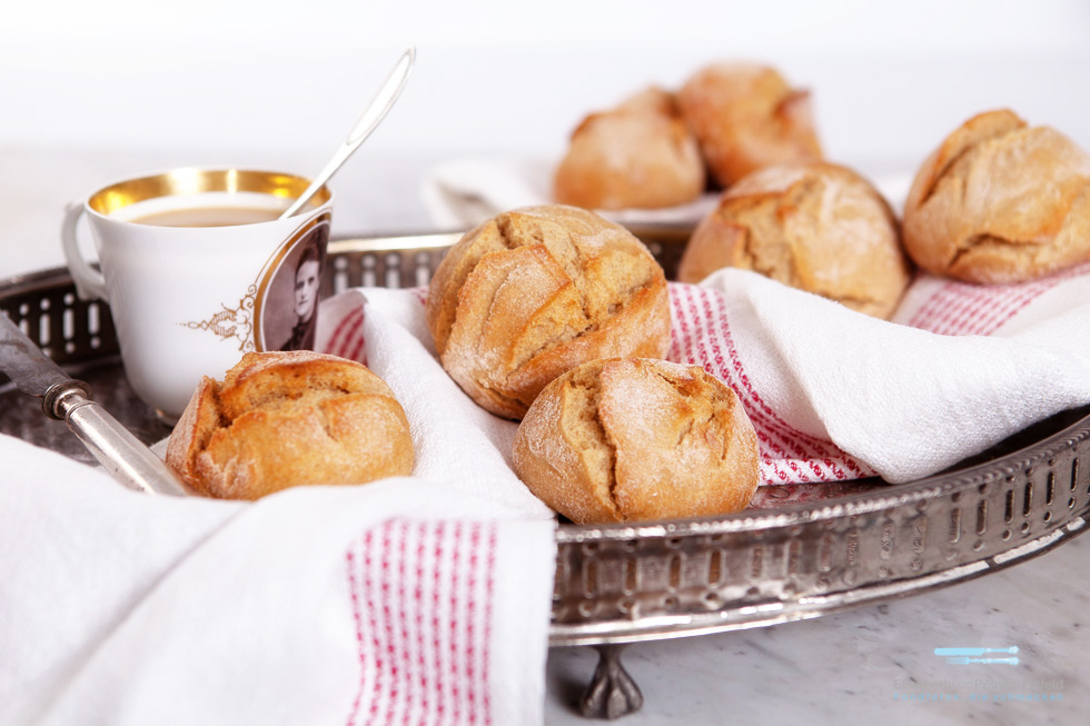 Kartoffelbrötchen Mit Emmer