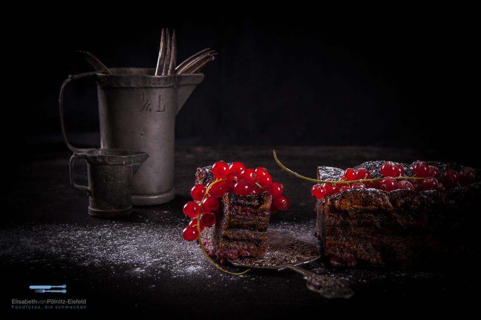 Mohnkuchen Mit Roten Johannisbeeren Aus Der Obst-Rezension