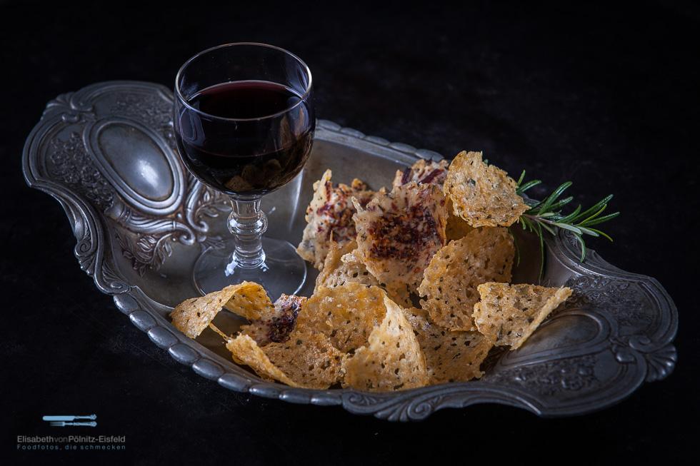 Grana Padano Chips / Fingerfood Vegetarisch (Werbung)