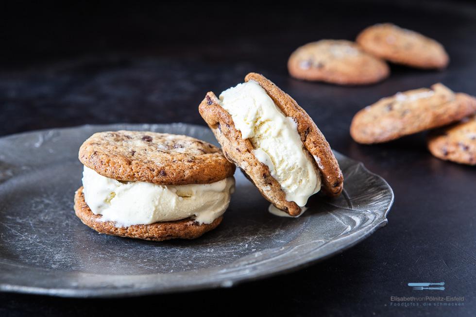 Eis-Sandwich Mit Cookierezept Nach David Lebovitz