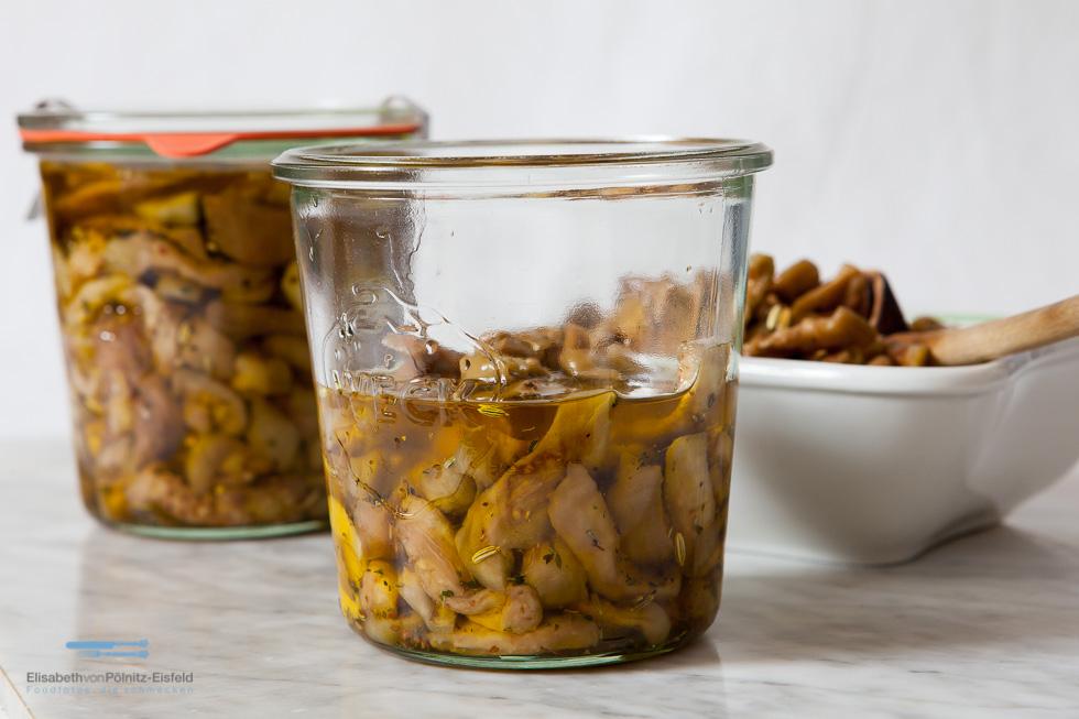 Melanzane Sott'olio – Eingelegte Auberginen