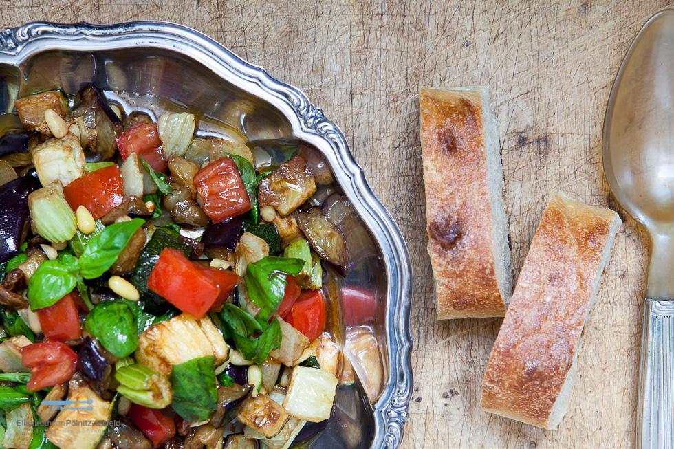 Caponata – Ein Frittierter Gemüsesalat Zum Grillabend