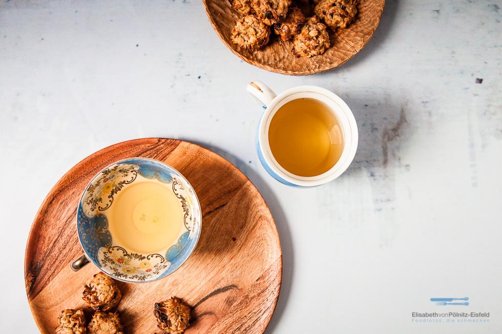 Haferflocken-Cashew-Cookies