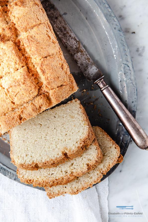 Toastbrot mit Mandelmehl