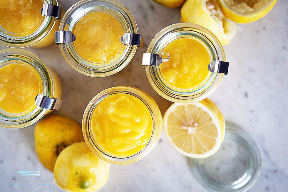 Lemon Curd Oder Resteverwertung 2.0